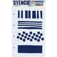 PaperArtsy stencil - JOFY PS249 16 x 24 cm
