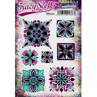 PaperArtsy Stamps Tracy Scott TS050