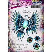 PaperArtsy Stamps by Tracy Scott TS053