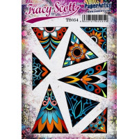 PaperArtsy Stamps by Tracy Scott TS054