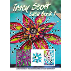 PaperArtsy Tracy Scott Lace Booklet 1