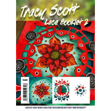 PaperArtsy Tracy Scott Lace Booklet 2