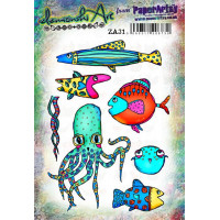 Zinski Art Set 31 PaperArtsy Stamps