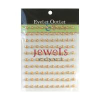 Pearls self-adhesive 5mm - Brown