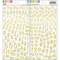 Pinkfresh Studo - Alphabet doré