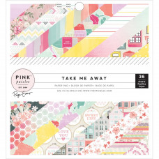 Pink Paislee Take Me Away 6 x 6 Pad