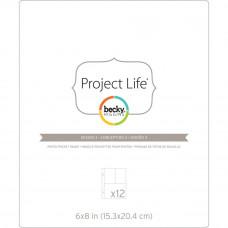 Pochettes Protectrices Project Life - conception 3: 15 x20 cm divisé en 3