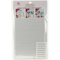 Queen & Co Shaker card kit - Lines