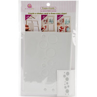 Queen & Co Shaker card kit - Bubbles