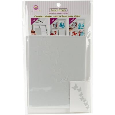 Queen & Co Shaker card kit - Butterflies