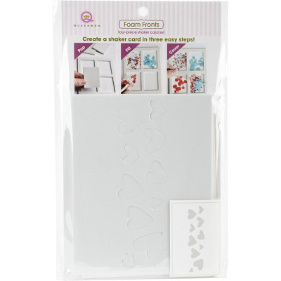 Queen & Co Shaker card kit - Hearts