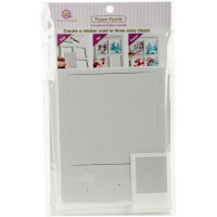 Queen & Co Shaker card kit - Polaroid