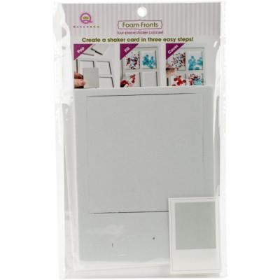 Queen & Co Shaker card kit - Polaroid