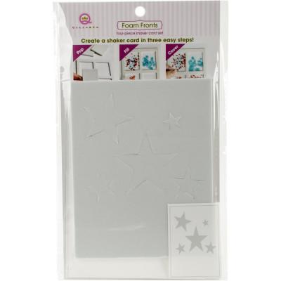 Queen & Co Shaker card kit - Stars