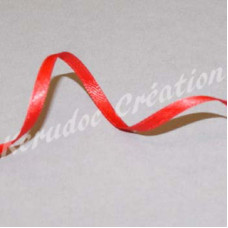 Ribbon 3mm Red, per metre