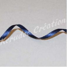 Ruban 3mm bleu marine, per mètre