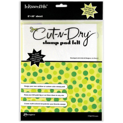 Inkssentials Cut'n'Dry Stamp Pad Felt
