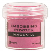 Ranger embossing powder - Magenta