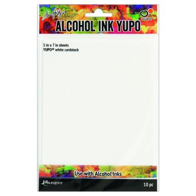 Ranger alcohol ink Yupo paper white 12 x 17cm