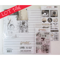 Collection 'Rock Family' Lorelaï Design SPECIAL OFFER BUNDLE papers, stamps, embellishments