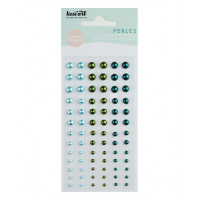 Kesi'art self-adhesive Pearls - Bleu