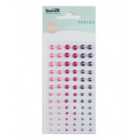 Kesi'art self-adhesive Pearls - Pink