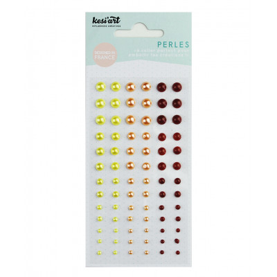 Kesi'art self-adhesive Pearls - Yellow