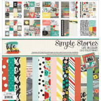 Life in Color 12x12 Collection Kit by Simple Stories