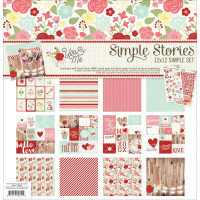 You & Me 30x30 Paper Kit par Simple Stories