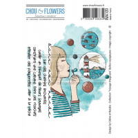 Stamps by Chou & Flowers - Bulles Voyageuses