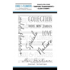 Chou & Flowers Clear stamps - Collection