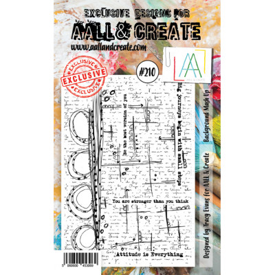 AALL & Create stamp - 210 background