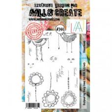 AALL & Create stamp set 244