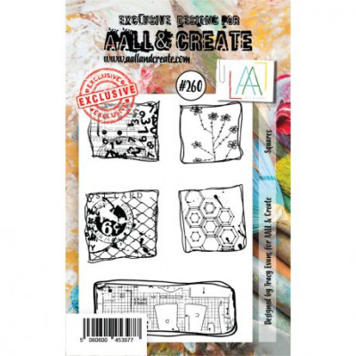 AALL & Create stamp set 260