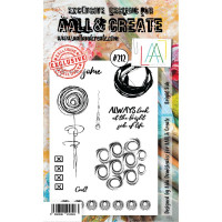 AALL & Create stamp - 212 - bright side of life