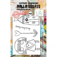 AALL & Create stamp - 493 All heart