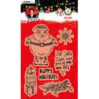Art by Marlene Clear Stamps Christmas Dear Santa Essentials nr.84