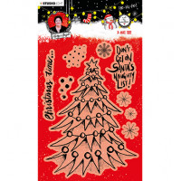 Art by Marlene Clear Stamps Christmas Tree essentials nr.82