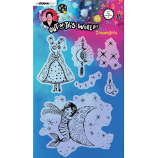 Art by Marlene Clear Stamps Out Of This World nr.70 Dreamgirls
