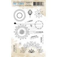 Chou & Flowers Clear stamps - Mandala