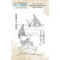 Chou & Flowers Clear stamps - Les Gnomes marins (sailor gnomes)