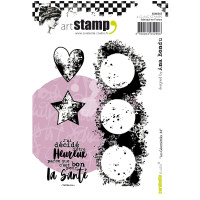 Carabelle Studio cling stamps: Géometriks #4