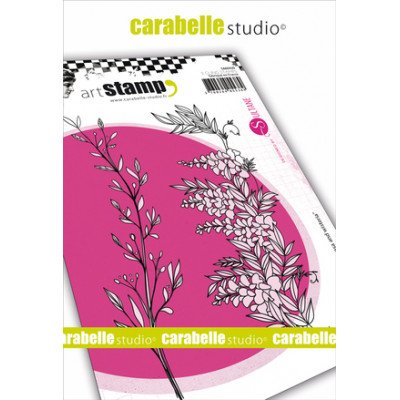 Carabelle Studio A6 cling stamps - Mimosa and Wisteria