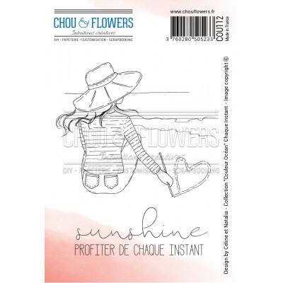 Chou & Flowers EZ stamps - Chaque Instant