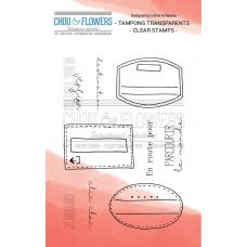 Chou & Flowers Clear stamps - En route pour