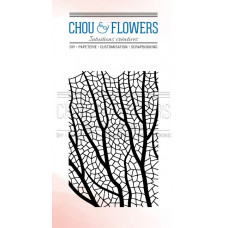 Chou & Flowers Clear stamps - Fond Corail (coral)