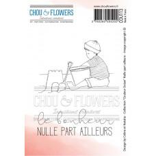 Chou & Flowers EZ stamps - Nulle part ailleurs (nowhere else)