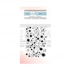 Chou & Flowers Clear stamp - Confetti