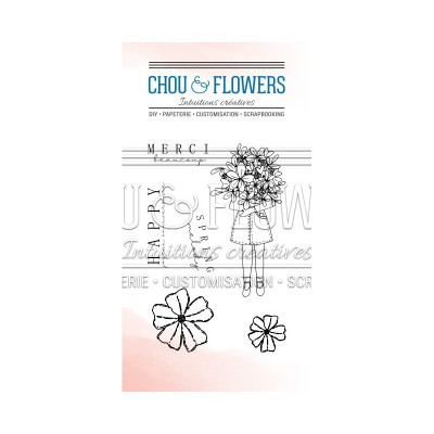 Chou & Flowers Clear stamps - Spring Melody