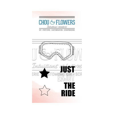 Chou & Flowers Clear stamps - Clear the Ride